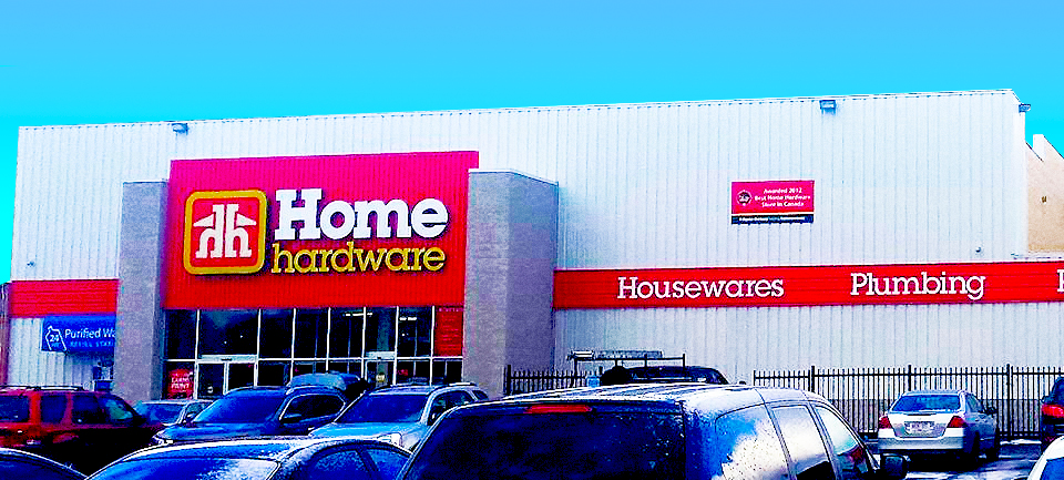 Brantford Home Hardware: 10 King George Rd. Brantford, Ontario